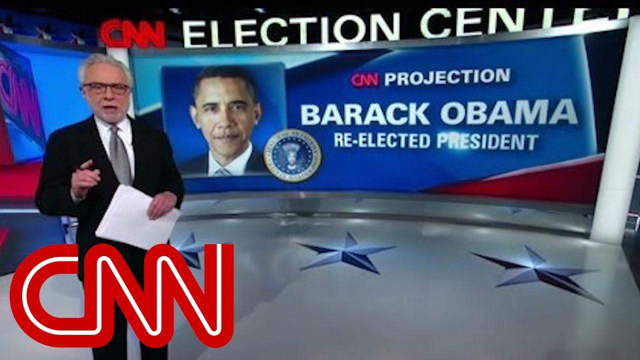 Election night 2012 unfolds on CNN