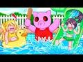 ESCAPE The Waterpark In Roblox Piggy!