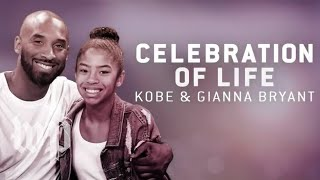 Kobe and Gianna Bryant memorial service held at Staples Center (FULL LIVE STREAM)