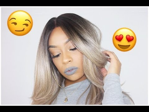The Best Ash Blonde Wig For Beginners!! - YouTube 83822df22062