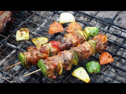 GRILLED PORK SKEWER - Thịt Xiên Nướng