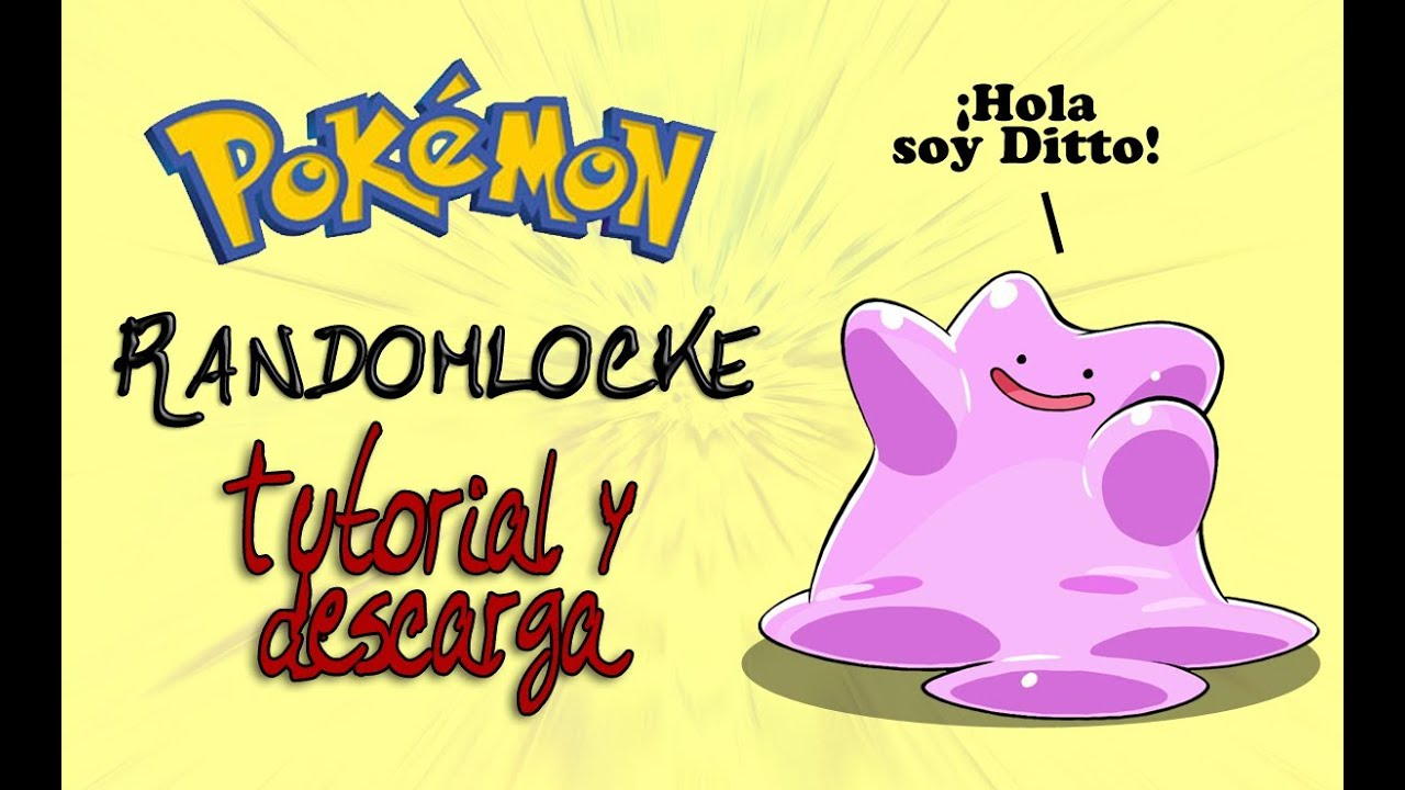 how to make a pokemon randomizer