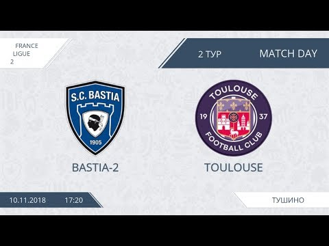 AFL18. France. Ligue 2. Group A1. Day 2. Bastia-2 - Toulouse.