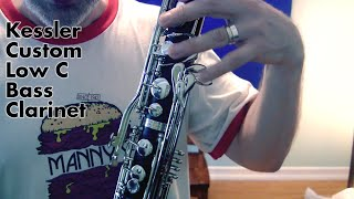 Bass Clarinet Review: The ($2,179) Kessler Custom Low C Bcl!