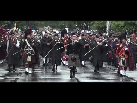 2019 NZ Pipe Band Championships - YouTube