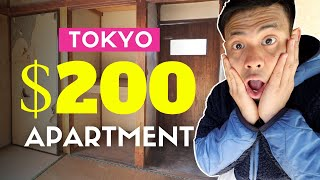 $200 Japanese Apartment in Tokyo