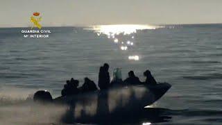 11 detenidos en Almería por traficar con migrantes desde Argelia