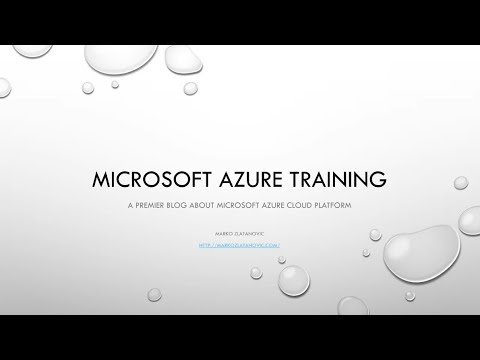 Microsoft Azure Training 70-535 - [4]How to Achieve 99999 procent in azure
