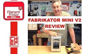 Turnigy Fabrikator Mini V2 3D Printer Review From Hobbyking