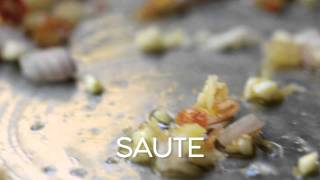 La Brea Bakery White Bean Crostini With Pancetta And Basil Pesto