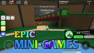 EPIC MINIGAMES | ROBLOX | KML285