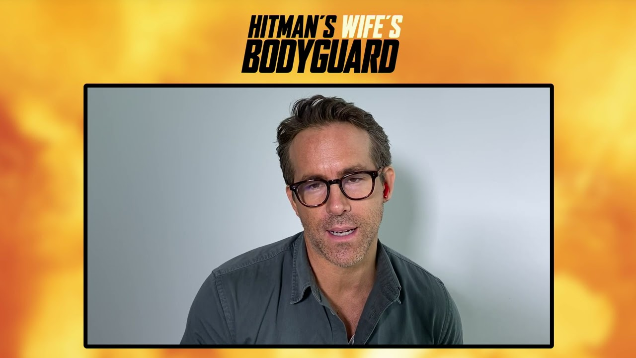 The Hitman's Wife's Bodyguard: Ryan Reynolds Official Movie Interview   ScreenSlam
