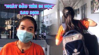 Gambar cover Vlog #18   Hiền Trân lạ lẫm khi ngày đầu tiên đi học lại sau dịch