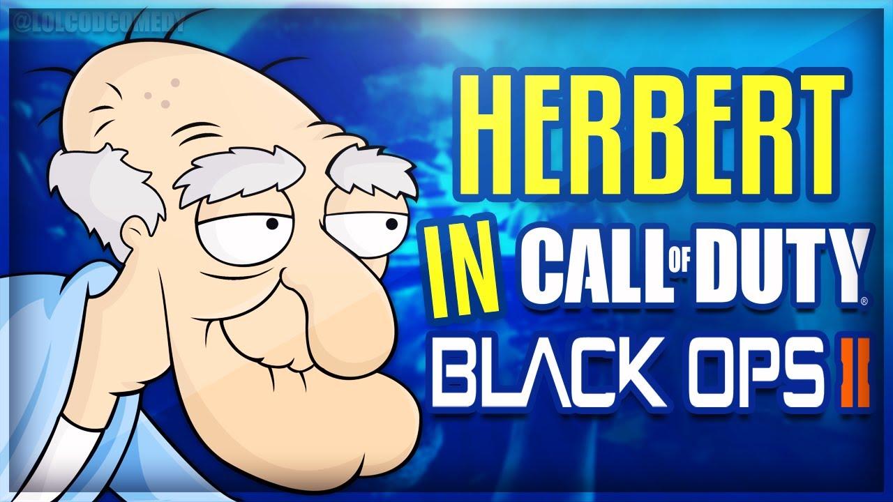 Herbert the Pervert Plays Black Ops 2 (w/ Friends) - BO2 Voice Trolling