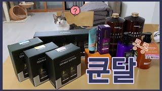 쿤달 언박싱(feat.깜비)/냄새 킁킁/블랙프라이데이/…