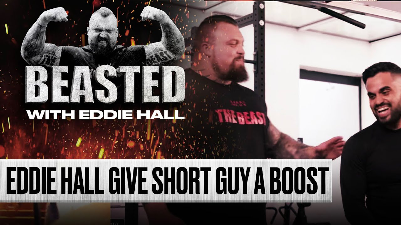 Eddie Hall Gives Wannabe Influencer A Beasting  | BEASTED | SPORTbible