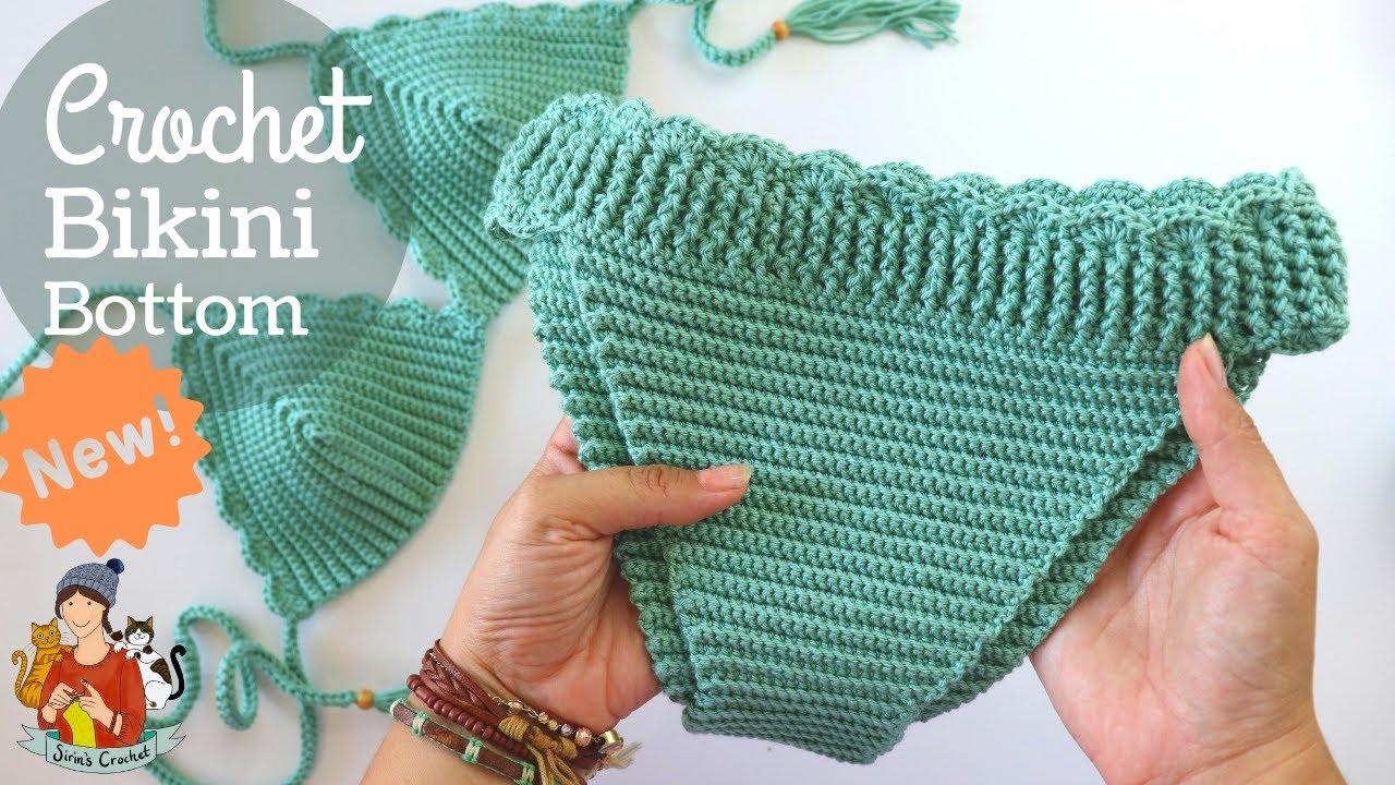 NEW Crochet Bikini Bottom Pattern For Any Size