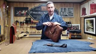 Coach Metropolitan Slim Briefcase Review by Master Leather Craftsman Joseph Marcellino