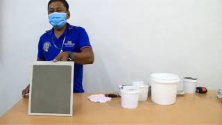 DIY - How to use Eurotiles Plaster Patch-Thin Rendering Mortar