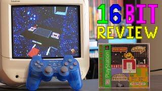 Namco Museum Vol 1 Review; 16 Bit Game Review