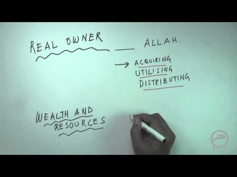 Islamic Economics - Real Owner Wealth And Resource: Lesson-3