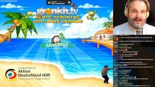 0160 🔴 4OO JAHRE GRONKH! - ETS2 und STARBOUND mit TOBI  🔴 Gronkh Livestream 10.04.2017