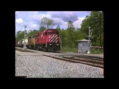 Alco/MLW's on the D&H in the Saratoga/Mechanicville,NY area 06/04/1991