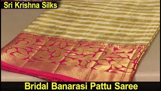 Latest Bridal Sarees for Weddings with Price | Sri Krishna Silks Hyderabad | Saree Collections 2018