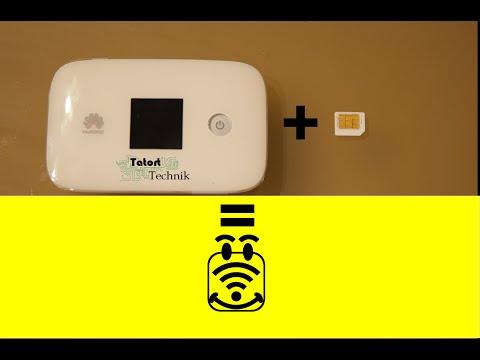 huawei mobile hotspot e5786 teil 3 inbetriebnahme mit gesperrter sim karte funnydog tv. Black Bedroom Furniture Sets. Home Design Ideas