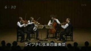 Leipzig string quartet,  Schubert d-minor  D 810
