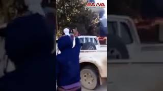 İnsani yardım otobüslerini Esad değil,sözde mücahit teröristler yaktı