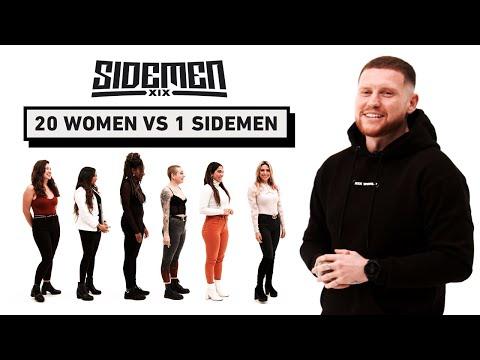 20 WOMEN VS 1 SIDEMEN