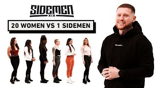 20 WOMEN VS 1 SIDEMEN