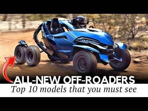 10 All-New Offroad Vehicles and Fun Inventions for Outdoor Explorations