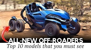 10 All-New Offroad Vehicles and Fun Inventions for Outdoor Exp…