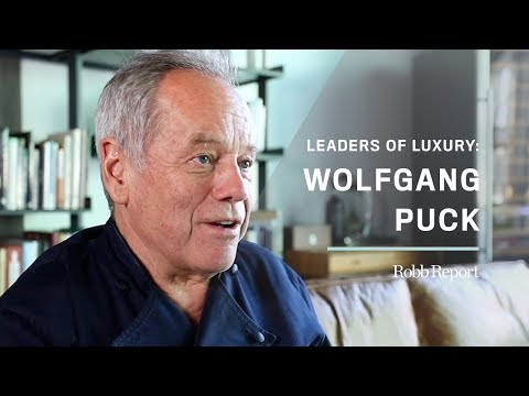 Leaders of Luxury Series: Iconic Chef Wolfgang Puck