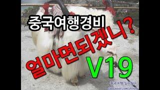 [중국여행길라잡이]  중국여행경비V19