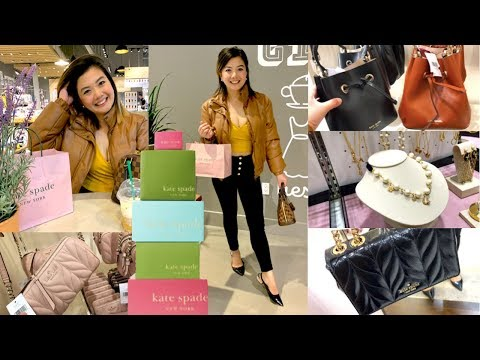KATE SPADE BAGS New Style & Prices WHAT'S INSIDE THE STORE Shopping   What I Got PART 2   Pearl Yao
