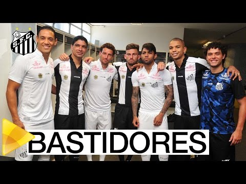 BASTIDORES | Lançamento dos novos uniformes do Santos FC