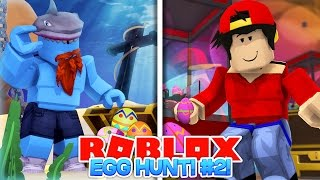 ROBLOX Adventure - CHASSE EGG 2017 - ROPO vs SHARKY!!