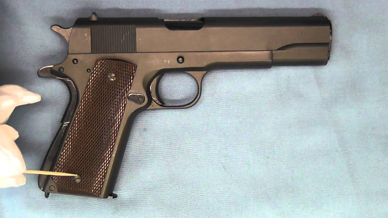 WW 2 Remington Rand 1911A1 ERRS Series Pistol  45 ACP