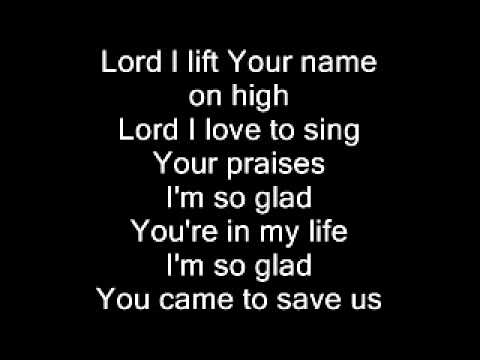 Lord I Lift Your Name On High (Petra) - YouTube