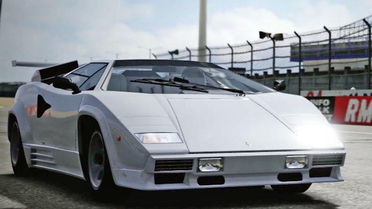 Forza Motorsport 4 Lamborghini Countach Lp5000 Qv 1988