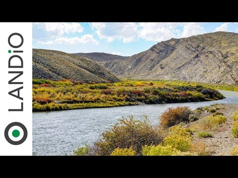 Land For Sale In Wyoming : Fishing & Hunting Paradise Adjoining Public Land Near Casper, Wyoming