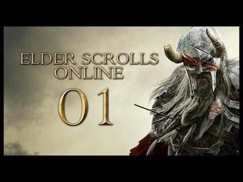 Let's Play Elder Scrolls: Online PC Gameplay - Part 1 (FIRST STREAM)