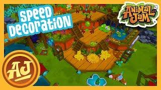 Play Wild Botanical Garden Speed Decoration |  Animal Jam - Play Wild