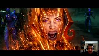 Magic the Gathering WotS Trailer (Reaction)
