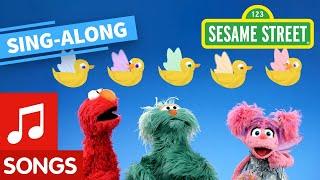 Sesame Street: 5 Little Fairy Ducks Lyric Video