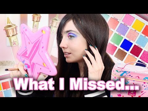 Trying Jeffree Star Makeup I Missed While I Was Gone thumbnail