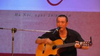 """TIẾNG GÁY THỜI GIAN - Tuấn 'gà"""" sáng tác & tự đệm guitar hát cực phiêu"""